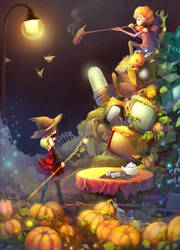 2011 Halloween Illustrations by Electrixocket