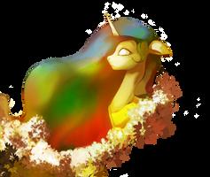 princess celestia by Electrixocket