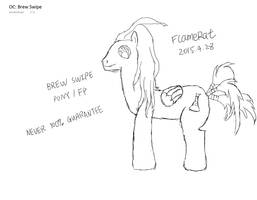 Pony OC: Brew Swipe by FlameRat-YehLon
