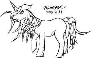 Random Unicorn by FlameRat-YehLon