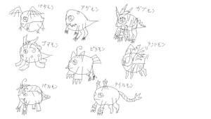 Weird DA Main Characters by FlameRat-YehLon