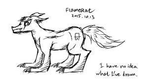 Random Drawing For No Reason by FlameRat-YehLon