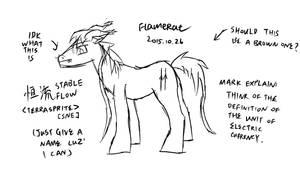 Random midnight drawing for no reason by FlameRat-YehLon