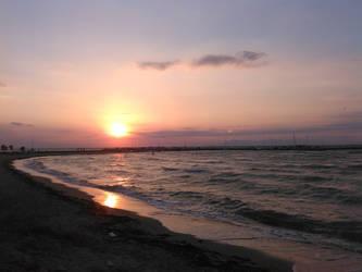 Beach Sunset by stelios53