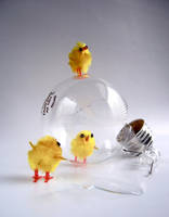 chick adventures_ lightbulb 3 by dragorien