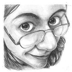 Self portrait by dragorien