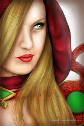 World of Warcraft: Valeera. by Elena-Barilli