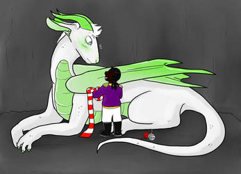 The dragon and the prince by Miss-Jerk