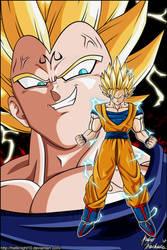 Super Saiyan 2 Goku's Foe by Hellknight10