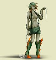 30 monster girls challenge -7. Plant girl by Leadpanda
