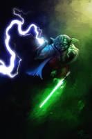 Master Yoda (overpaint) by Lotsmanov