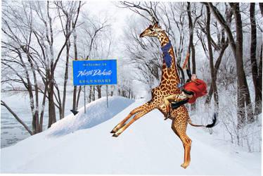 Riding The North Dakota Giraffe by Chaosfive-55