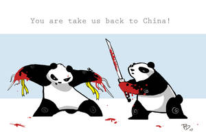 Don't Feed the Pandas by Spysheep