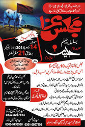 Flex Majlis E Aza by BhuttahG
