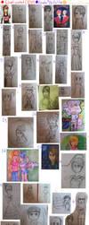 Art dump 1 by maitha-girl