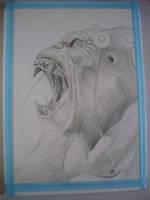 Gorilla Grodd_ by leonartgondim