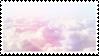 pastel clouds stamp by sinnamonstamps