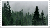 forest stamp by sinnamonstamps