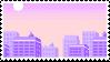pixel art stamp by sinnamonstamps