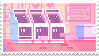 pixel art stamp 3 by sinnamonstamps