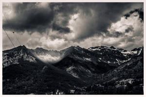 The mighty Alps by mariuslupu