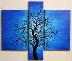 Silhouette arbre onduleux by jonathanpradillon