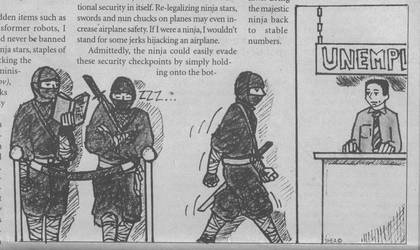 Unemployed Ninjas by The-Glock