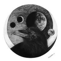 Moonrise by linnsetane