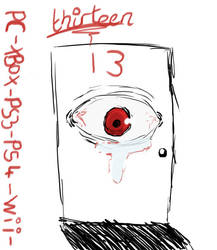 13 Logo ( Horror Game Concept) by LunaAngel-Eclipse