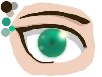Eren Digital Eye by LunaAngel-Eclipse