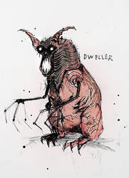 Monster #1 : Dweller by ZCrims