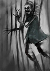 Monster #4 : Maddened woman by ZCrims