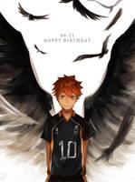 Happy birthday, Hinata by kahmurio