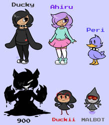 Persona Ref 2k18 by DuckyDeathly
