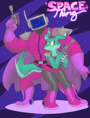 Space Thing by burntbeebs