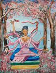 Cherry Blossom Goddess by JenY1212
