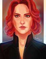 Natasha Romanoff by Rinceless