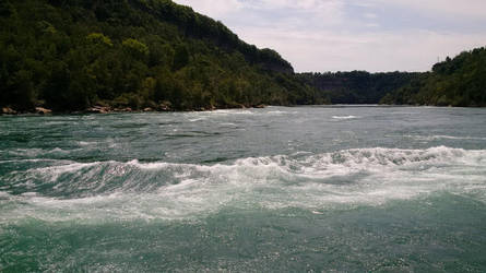 Niagara River - Edge of the Water 2 by ironicgiant