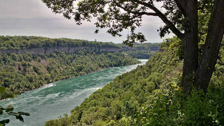 Niagara River and Gorge by ironicgiant