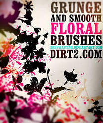 Floral Photoshop Brushes by DonnaCuzzard