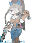 Mrs.  Luna by Myst1cLuna