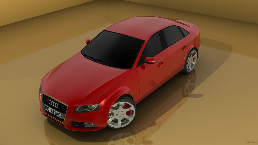 Audi A4 by piotr-nowicki