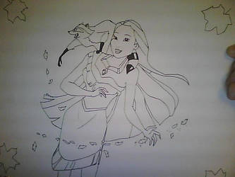 Pocahontas by TooHoo