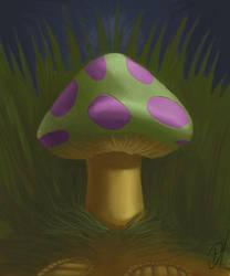 Teemo Mushroom by Dectroh