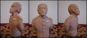 Bust of Gentleman - IV by GStolyarovII