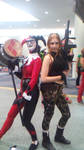 Lara and harley by JMCosplay