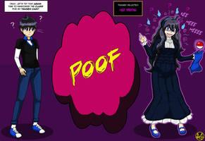 Com: Time for a Class Re-roll! (Hex Maniac TG) by Sera-fuku