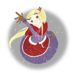 Snow flower by Creseliia