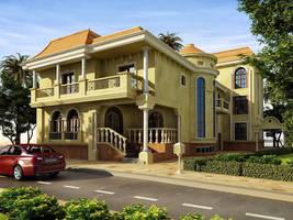 Dr.Osama House by arch7sam