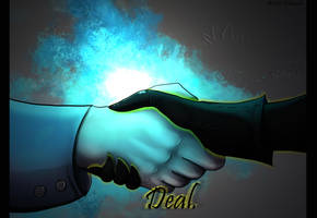  Gravity Falls Fanart   Deal by Khanashi